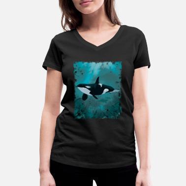 T-shirt femme coton BIO Orque
