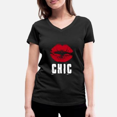 Chic Chic - Women's Organic V-Neck T-Shirt