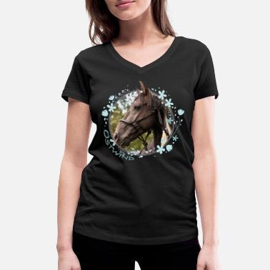 Bibi Und Tina Mit Amadeus Und Sabrina Kachelmotiv Frauen Oversize T-Shirt