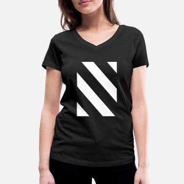 Icon Shape icon icon - Women's Organic V-Neck T-Shirt