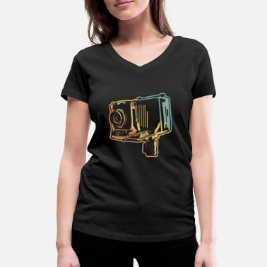 Analogue Analogue photography - Women's Organic V-Neck T-Shirt