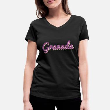 Ibiza Granada Spain - Women's Organic V-Neck T-Shirt