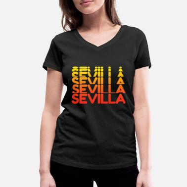 Spanish Seville - Women's Organic V-Neck T-Shirt