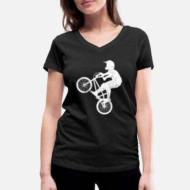 Bmx BMX - Women's Organic V-Neck T-Shirt