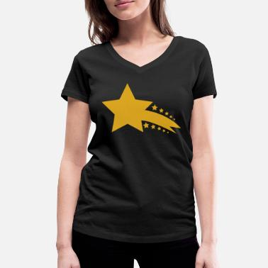 Shooting Stars shooting star - Women's Organic V-Neck T-Shirt