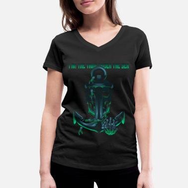 Anchor anchor - Women's Organic V-Neck T-Shirt