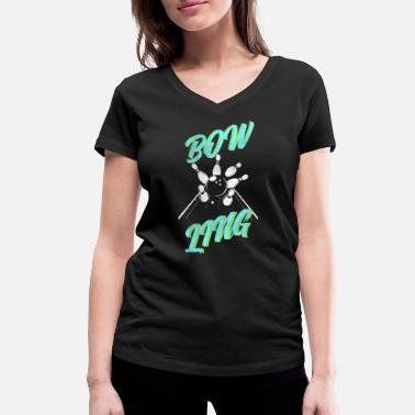 Bowling Club Bowling bowling club - Women's Organic V-Neck T-Shirt