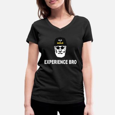 Experience experience - Women's Organic V-Neck T-Shirt