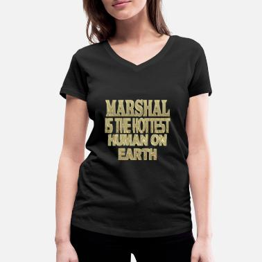 Marshall Marshal - Women's Organic V-Neck T-Shirt
