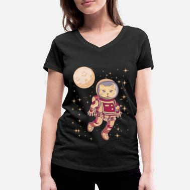 Missile Space gift astronomy hobby for nerds - Women's Organic V-Neck T-Shirt