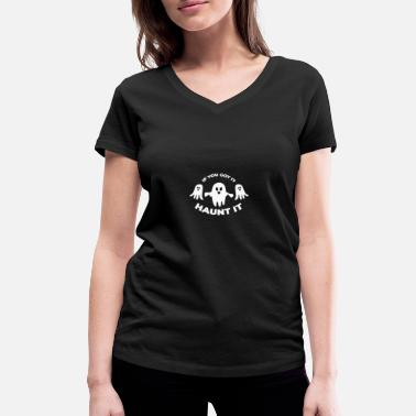 Haunt Haunt It - Women's Organic V-Neck T-Shirt