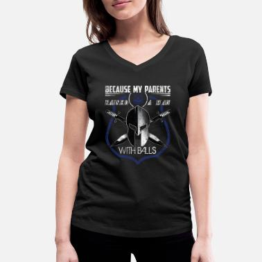 Enforcement Police Gifts Police Support Police Gifts A Man - Women's Organic V-Neck T-Shirt