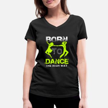Step Dance Step Dance - Women's Organic V-Neck T-Shirt