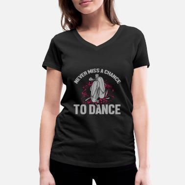 Dancer Ballet dancer - Women's Organic V-Neck T-Shirt