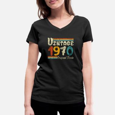 Original Vintage 1970/ Original Parts 1970 - Women's Organic V-Neck T-Shirt