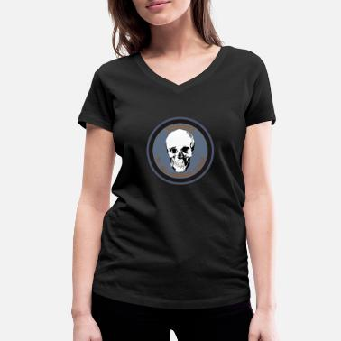 Nuclear Power no nuclear power - Women's Organic V-Neck T-Shirt