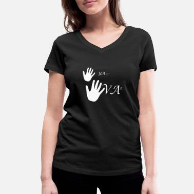 Wait ya gonna wait wait wait - Women's Organic V-Neck T-Shirt