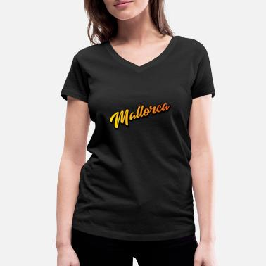 Helling Mallorca helling - Vrouwen V-hals bio T-shirt