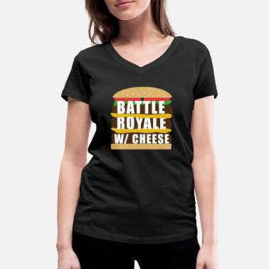 Cheese Battle Royal With Cheese - Women's Organic V-Neck T-Shirt