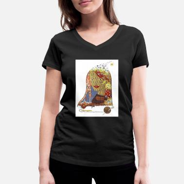 Casino CASINO - Women's Organic V-Neck T-Shirt