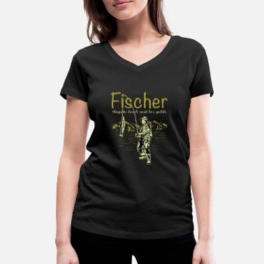Fisherman fisherman - Women's Organic V-Neck T-Shirt