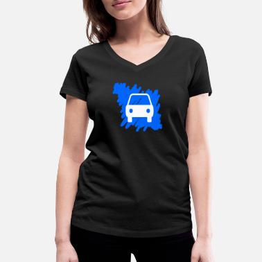 Drivers License driver's license - Women's Organic V-Neck T-Shirt