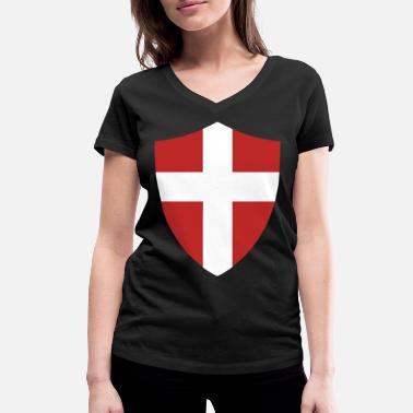 Danish Danish - Women's Organic V-Neck T-Shirt