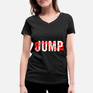 Jumpstyle Jumpstyle - Women's Organic V-Neck T-Shirt