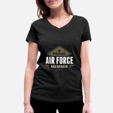 Airforce Air Force Airforce - Women's Organic V-Neck T-Shirt