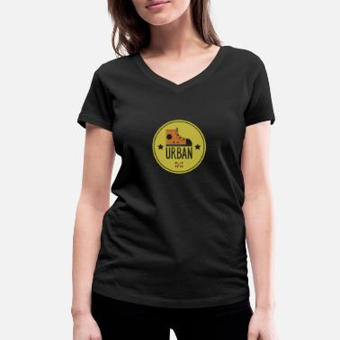 Urban URBAN - Women's Organic V-Neck T-Shirt