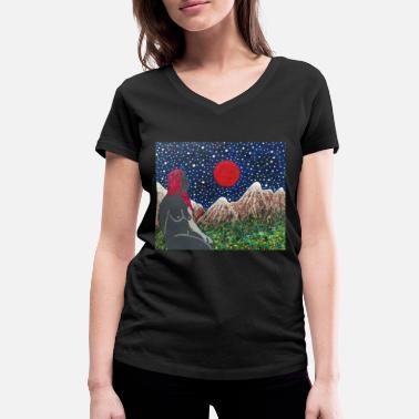 Under Armor UNDER A BLOOD MOON DEZE - Vrouwen V-hals bio T-shirt