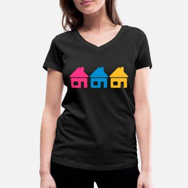 Neighborhood Neighborhood - Women's Organic V-Neck T-Shirt