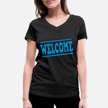 Panel welcome panel - Women's Organic V-Neck T-Shirt