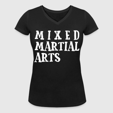 Mixed Martial Arts2 - T-shirt bio col V Stanley & Stella Femme