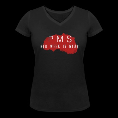 PMS Collection - Women's Organic V-Neck T-Shirt by Stanley & Stella