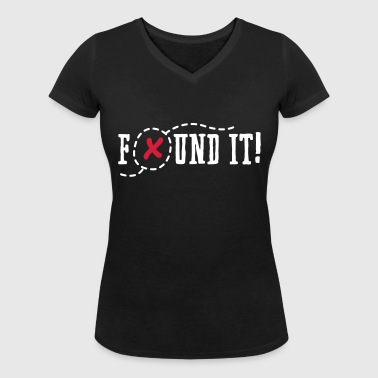 Geocaching - found it! - T-shirt bio col V Stanley & Stella Femme