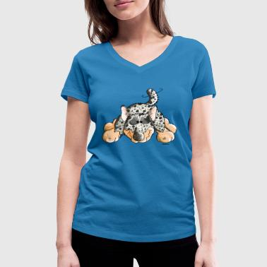 Funny Australian Cattle Dog - Dogs - Women's Organic V-Neck T-Shirt by Stanley & Stella