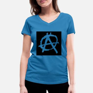 Sons Of Anarchy anarchy - Women's Organic V-Neck T-Shirt by Stanley & Stella