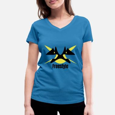 Freestyle Freestyle - T-shirt bio col V Femme