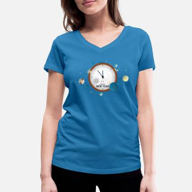 New Year New Year - New Year - Women's Organic V-Neck T-Shirt