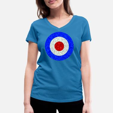 Royal Air Force Royal Air Force - Frauen Bio T-Shirt mit V-Ausschnitt