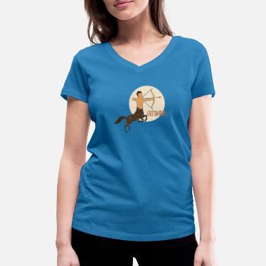 Centauro centauro - Camiseta con cuello de pico mujer c0d779f5311