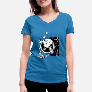 Blowfish Blowfish - Women's Organic V-Neck T-Shirt