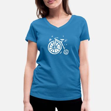 Wheel wheel - Women's Organic V-Neck T-Shirt