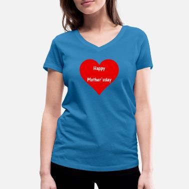 Officialbrands happy mothersday for mother and mum for mother's day - Women's Organic V-Neck T-Shirt