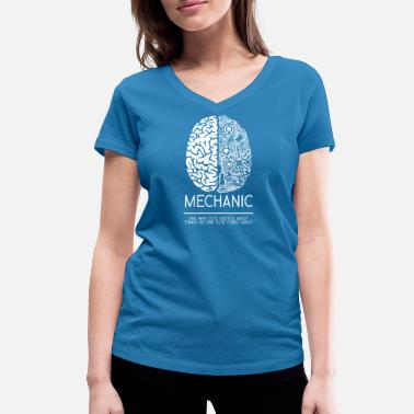 Vehicle Vehicle mechanic Mechanical engineer - Women's Organic V-Neck T-Shirt