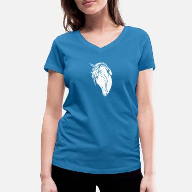 Horse Manure Horse riders birthday horse friend gift - Women's Organic V-Neck T-Shirt