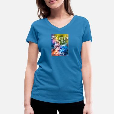 New Directions MAKE your IDEAS Mark New Directions - Women's Organic V-Neck T-Shirt