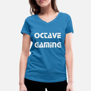 Octave octave gaming - Women's Organic V-Neck T-Shirt