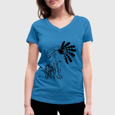 Indian - Women's Organic V-Neck T-Shirt by Stanley & Stella